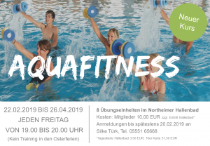 TSV Kursangebot Aquafitness Feb 2019