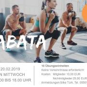 TSV Kursangebot Tabata Feb 2019